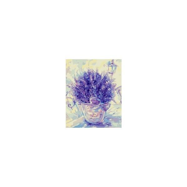 Рисование по номерам на холсте 40х50см серия Цветы. Фрукты