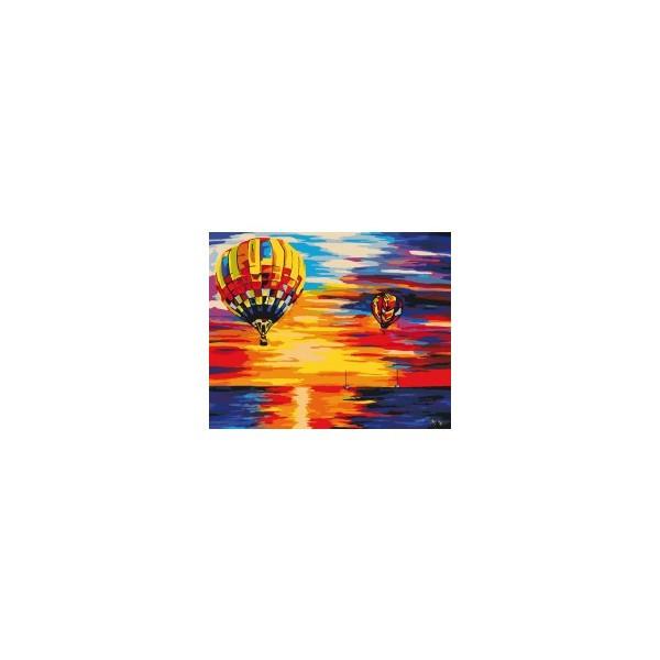 Рисование по номерам на холсте 40х50см серия Пейзаж