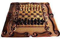 Шахматы деревянные ручная работа, фото 1