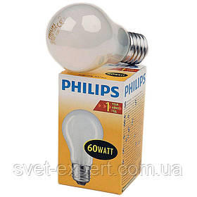 PHILIPS A55 60Вт Е27 матовая