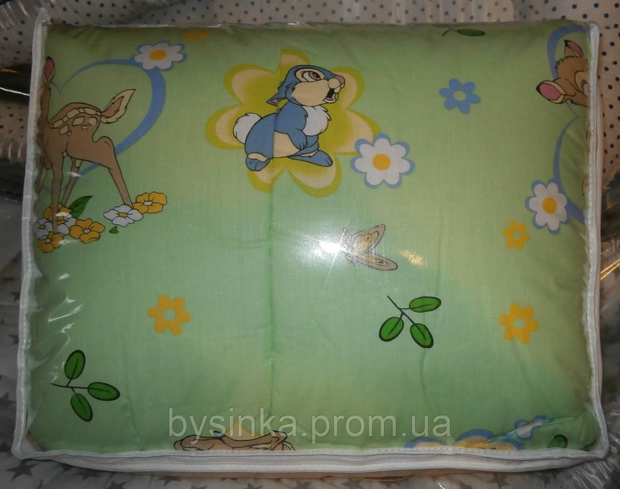 """Одеяло и подушка для новорожденных в кроватку- """"Зайка"""""""