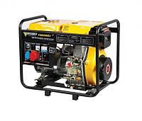 Дизельный генератор 380В/220В FORTE FGD-6500E3