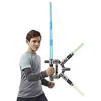 Электронный световой меч Звездные войны блейд билдерс  Star Wars Bladebuilders Jedi Master Lightsaber