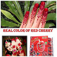 Хна для мехенди вишневая (красная) Golecha