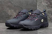 Чоловічі зимові черевики  Timberland  (3567)темно-сині