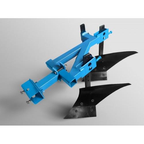 Плуг 2-х копусный для мотоблока или моторактора (8-15 л.с)