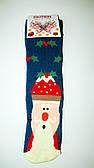 """Новорічні шкарпетки махрові жіночі зимові всередині високі бавовна """"EKMEN """""""