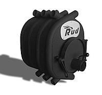 Отопительная печь буржуйка камин Rud Pyrotron макси 8 кВт Черная
