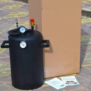 Автоклав Троян 24 банки по 0,5 литра или 12 банок 1 литр(углеродистая сталь), фото 2