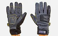 Перчатки теплые текстильные с закрытыми пальцами MECHANIX BC-5621