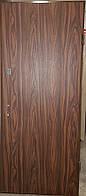 Входная дверь модель П2-гладкая / 124 vinorit-40
