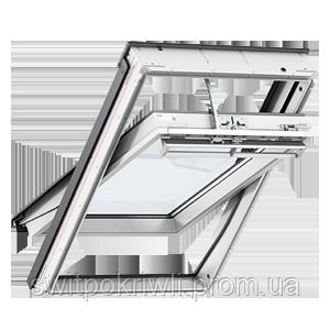 Мансардное окно VELUX PREMIUM Комфорт GGU 0066 – ручка сверху, фото 2