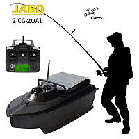 Прикормочный Кораблик JABO-2CG-20AL c GPS