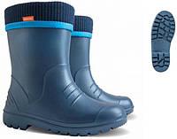 Детские резиновые сапоги  Dino синие Demar (Демар)