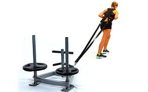 Сани тренировочные для кроссфита + петли CF6236 SLED