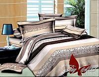 Комплект постельного белья  Семейный ТМ TAG Полисатин BL19879