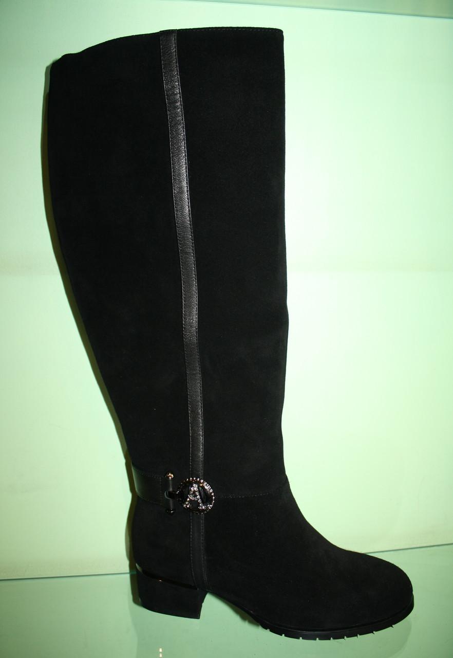 76e4cf1b9e6c Женские зимние сапоги с широким голенищем на полную ногу - интернет-магазин