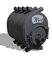 Отопительная печь буржуйка камин Rud Pyrotron макси 30 кВт Черная
