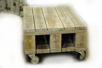 Журнальный столик на колесах, фото 2