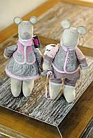 """Пара кукол """"Мышка+Мышь"""""""