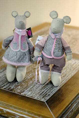 """Пара кукол """"Мышка+Мышь"""", фото 2"""