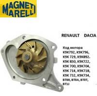 Помпа 1.5dCi Renault Kangoo 03-08/08- MAGNETI MARELLI WPQ0998