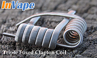 Сопротивление спиралей Triple Fused Clapton Coil