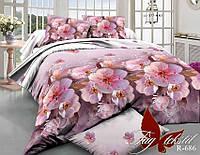 Двуспальный комплект постельного белья. Белье постельное для дома. Комплекты  белья. 2-спальная постель.