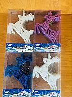 Набор игрушек Олень 15 см 12 шт