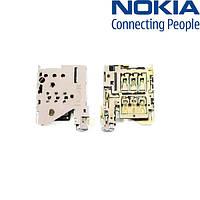 Коннектор SIM-карты для Microsoft (Nokia) 1520 Lumia, оригинал