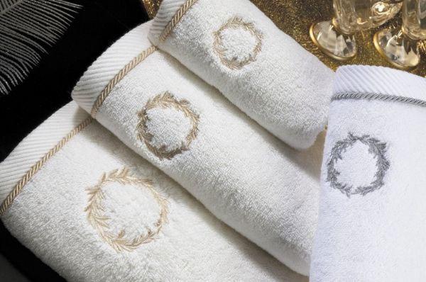 Soft cotton банное полотенце SEHZADE 85х150 белый
