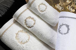 Soft cotton банний рушник SEHZADE 85х150 beyaz