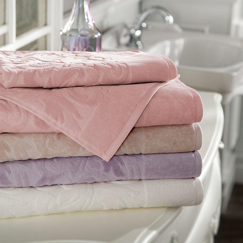 Tivolyo Home полотенце BAROC с камушками лиловый