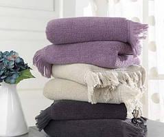 Soft cotton рушник лицьове FRINGE 50х100 MURDUM. фіолетовий