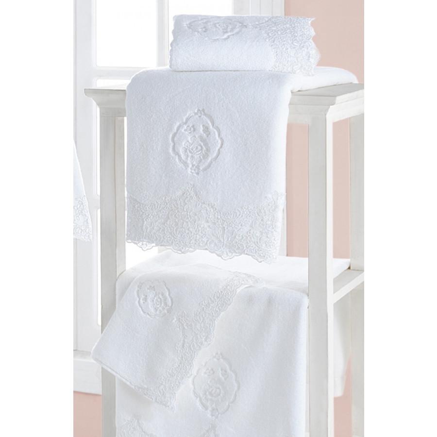 Soft cotton рушник лицьове DIANA 50х100 pembe. рожевий