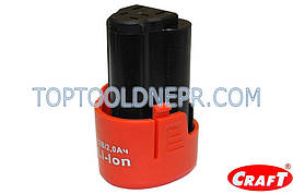 Акумулятор для шуруповерта 12V Craft CAS 12SL
