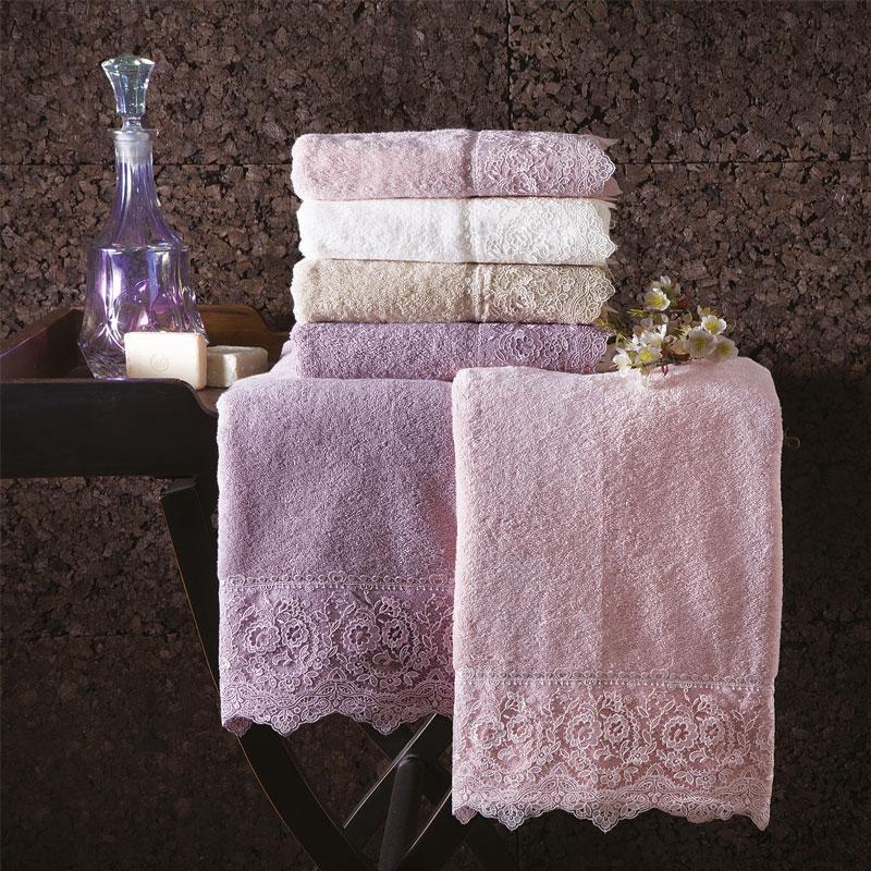 Tivolyo Home набор полотенец ELEGANT 2 пр. белый