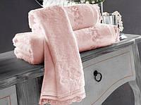 Soft cotton лицевое полотенце LUNA  50х100 Pembe розовый