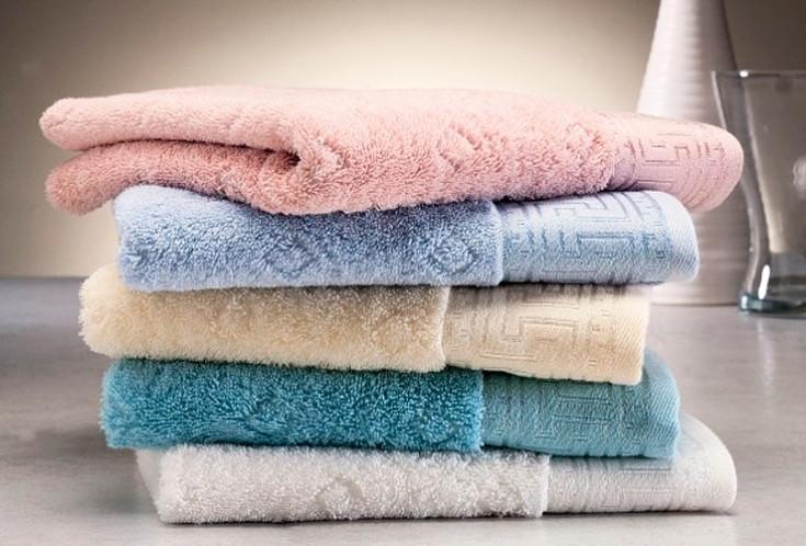 Soft cotton банное полотенце VERA 75х150 beyaz белый