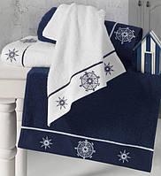 Soft cotton банний рушник MARINE LADY 85х150 beyaz. білий