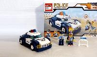Конструктор Полиция, Battle force Racing police