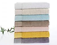 Soft cotton банное полотенце BAMBU 85х150  белый