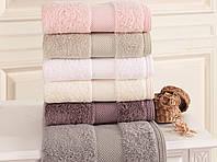 Soft cotton лицевое полотенце DELUXE 50х100  розовый