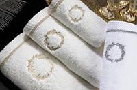 Soft cotton банний рушник SEHZADE 85х150 ekru