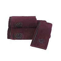 Soft cotton лицевое полотенце LUXSURE 50х100 Bordo бордовый