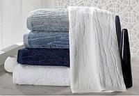 Soft cotton лицевое полотенце SORTIE  50х100 LACIVERT. тёмно-синий