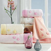 Soft cotton лицевое полотенце PUFFY  50х100  молочный