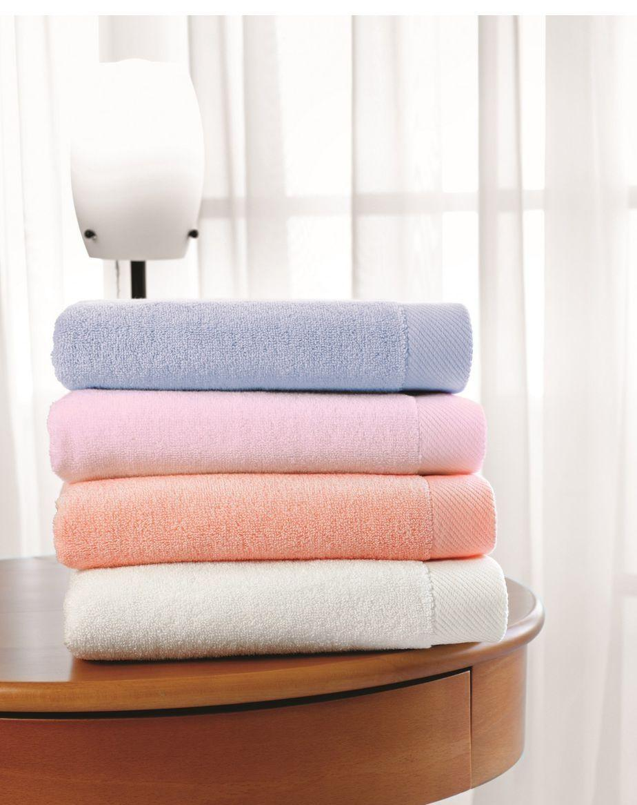 Soft cotton банное полотенце MICRO 85х150  персиковый