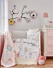 Детский плед в кроватку Karaca Home Happy 100*120
