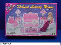 """Мебель """"Gloria"""" 2317 для гостинной, диван, 2кресла, столик"""